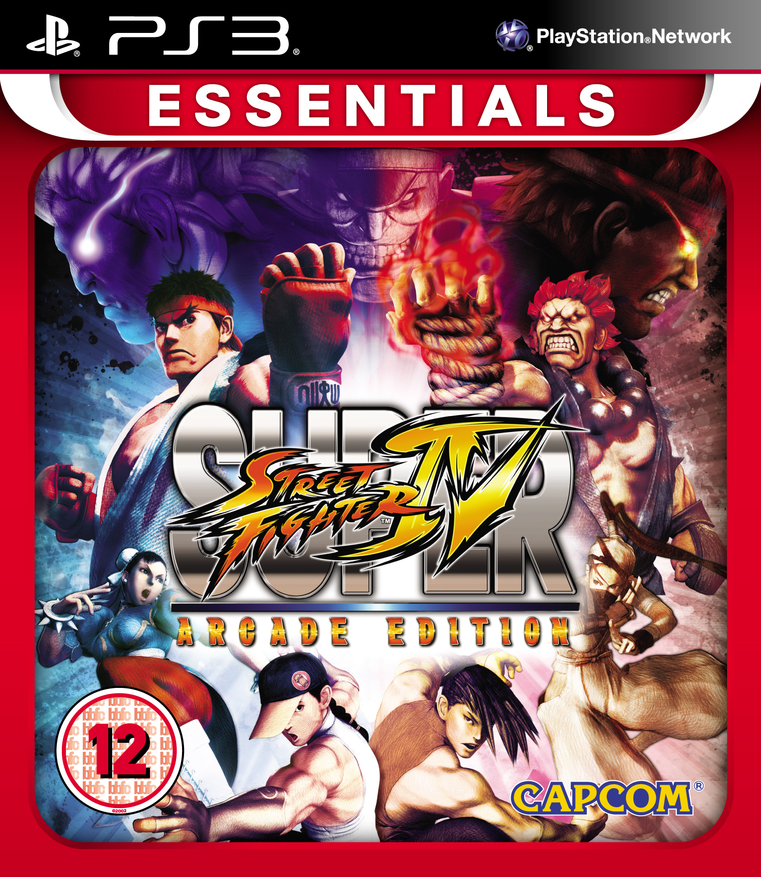 Super Street Fighter Arcade Edition - PS3