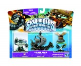Skylanders Spyro's Pirate Seas Adventure Pack (Terrafin + Pirate Seas + Hidden Treasure + Ghost Swords)