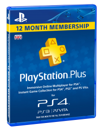 PlayStation Plus Card 365 Day Subscription